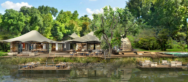 Thorntree River Lodge - Livingstone accommodation - Zambia